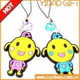 Cutome Firmenzeichen-Tier Silicond/PVC Keychain für Förderung Geschenk