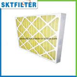 De aire de filtro del papel del marco del panel filtro pre