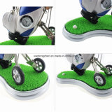 Pluma del golf del regalo promocional al por mayor del golf de la novedad y sostenedor determinados de la pluma del golf