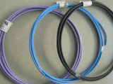 Fio de alta temperatura isolado PVC do carro de Flry-B