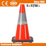 450mm Rot-Sicherheits-Farbe Belüftung-Verkehrs-Straßen-Kegel