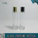 35ml de duidelijke Fabrieken van de Fles van de Nevel van het Glas van het Parfum van de Mond van de Bajonet in Guangzhou