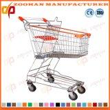 Supermarkt-asiatische Art-Zink-Einkaufen-Laufkatze (Zht33)