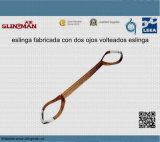Imbracature di sollevamento a tre strati della tessitura En1492-1 (TS-W03-04)