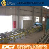 Proceso de producción de máquina de la fabricación de la tarjeta de yeso