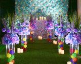 Vase acrylique pour le mariage, vase en cristal grand