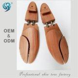 Frauen-elastische flexible hölzerne Schuh-Bahre, Schuh-Baum-Förderung