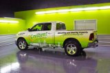 El vehículo asombroso de encargo de la impresión de Digitaces envuelve la impresión