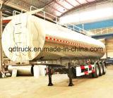 2017 최신 반 알루미늄 45m3 연료 탱크 트레일러