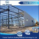 Costruzione strutturale d'acciaio prefabbricata del magazzino della costruzione di basso costo