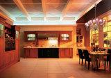 ヨーロッパの現代純木の食器棚のチェリーの木製の食器棚