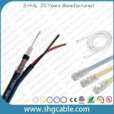 Ce RoHS исполняет к Mil-C-17 силе коаксиального кабеля Kx6+2 сиамской
