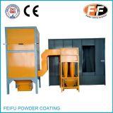 Cabine de pulverizador manual do revestimento do pó com recicl do ciclone