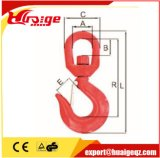 Красный крюк слинга контейнера картины порошка