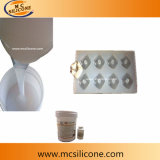 作るJewerley型蝋燭型のためのプラチナ治療のシリコーンゴム