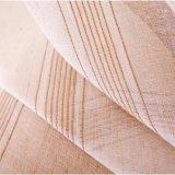 매력적인 리넨에 의하여 길쌈되는 보일 투명한 커튼 직물 (18F0109)
