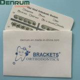 Denrumの歯科歯科矯正学の製品のセリウムのFDA ISOのBondable Rothブラケット