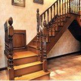 Barandilla de madera por encargo al por mayor de Foshan para el diseño de la casa