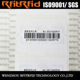 UHFの資産管理のための盗難防止の光沢紙RFIDの札
