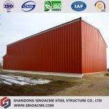 Gruppo di lavoro d'acciaio della costruzione della costruzione con il baldacchino dell'alta qualità