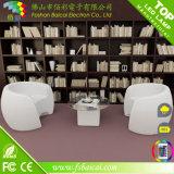 Muebles de aluminio iluminados del vector LED de la barra del vector de la barra