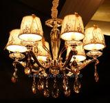 호텔 프로젝트 세륨, UL RoHS를 가진 수정같은 샹들리에 고객 빛
