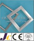 Profil en aluminium en aluminium solaire de Frameextruded anodisé par noir (JC-P-82008)