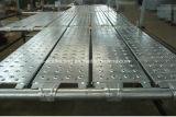 Stahlplanke/Vorstand mit zusammengebauten Haken für Baugerüst