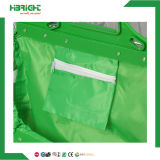 Supermarket Polyetser Fabric Foldabe Shopping Trolley Bag