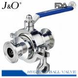 Válvula de esfera de aço inoxidável 2PCS de aço inoxidável