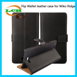 Кредитные карточки Flip бумажника и аргументы за Wiko Ridge держателя