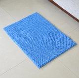 Tapete de piso de poliéster de pilha curta Chenille