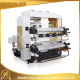 Twee Color Plastic Film Flexografisch Printing Machinery