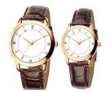 Вахта людей женщин Dw новых любовников вахты нержавеющей стали кварца wristwatches пар способа Yxl-302 ультрамодный