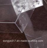 Высокомарочная относящи к окружающей среде содружественная коробка пластичный упаковывать PVC/любимчика квадрата/PP прозрачная