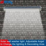Wireless Solar Wall Washer Light Outdoor Advertizing Light with Ce FCC