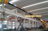 Navire hydraulique Telescopic Kunckle Floading Boom Marine Ship Deck Crane