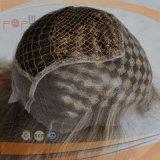 브라운 색깔 높은 가벼운 금발 색깔 물고기 그물 유형 상한 Handtied 레이스 정면 가발