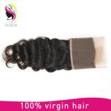 Frontal peruano fino del encierro del cordón del pelo de la Virgen de Handtied