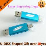 Mecanismo impulsor móvil promocional del flash del USB de los regalos OTG (YT-1201-03)