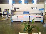Centro de mecanización de aluminio del eje de la pared de cortina del perfil del CNC 4