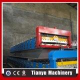 Panneau de mur galvanisé par acier en métal de tuile de toit de feuille faisant la machine
