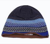 Sombreros de la gorrita tejida de los hombres de acrílico del 100%