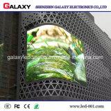 Pantalla suave de P2.98/P3.91/P4.81/P5.95 LED con la carrocería delgada, peso ligero, característica flexible