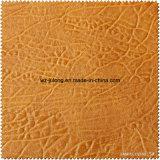 Nachahmung-rückseitiges heißes verkaufenqualitäts-synthetisches Leder u. PU-Leder für Schuhe (S277115)