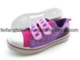 女の子の注入のキャンバスの履物は蹄鉄を打つ偶然靴(FFHH1230-08)に