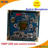 gestionnaire d'appareil-photo de PC de 1080P USB 2.0