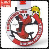Divertida alta calidad Deporte Medalla personalizada con el logotipo