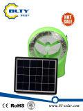 Mini ventilatore solare con l'indicatore luminoso del LED e la funzione della radio