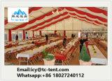 يشكّل خيمة يذهل 3000 الناس شفّافة لأنّ [ودّينغ برتي] خيمة